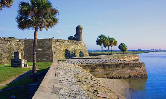Bayfront historic fort