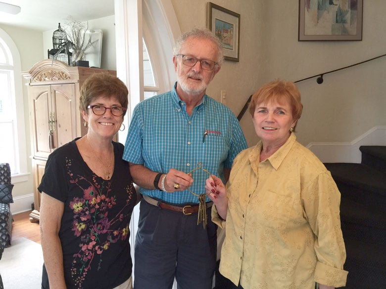 Margaret & Joe Finnegan with Kathleen Hurley