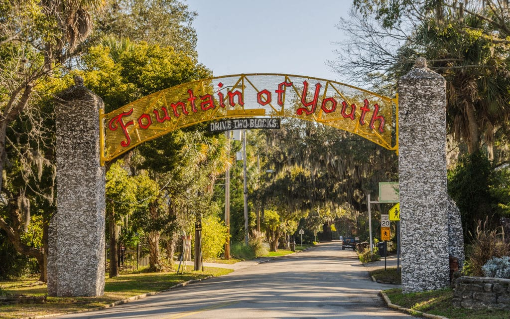Visit the Fountain of Youth in St. Augustine