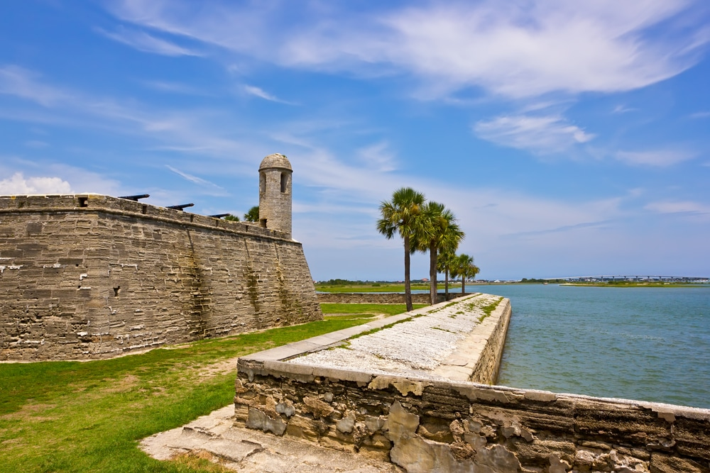 The best bed and breakfast near the castillo de San Marcos