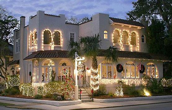 Christmas Lights at Casa de Suenos