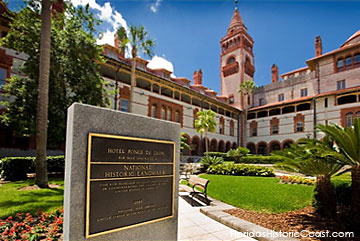 Flagler College, built as the Ponce de Leon Hotel